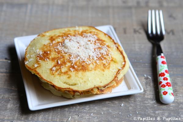Pancakes à la noix de coco ©AnneLataillade