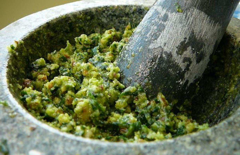 Pesto à l'ail des ours (c) kstenqnen CC BY-NC-SA 2.0