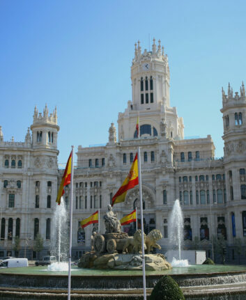 Plaza de Cibeles - Madrid