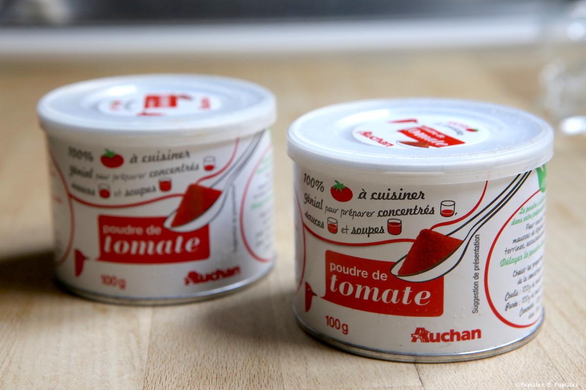 Poudre de tomates