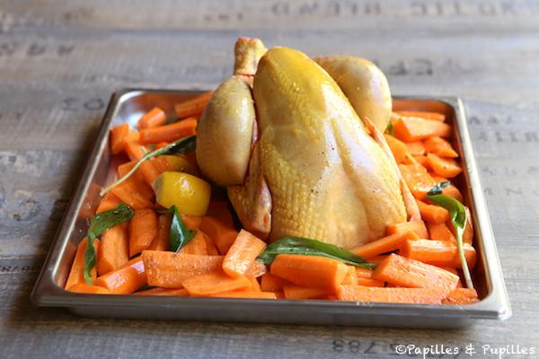 Poulet avant cuisson