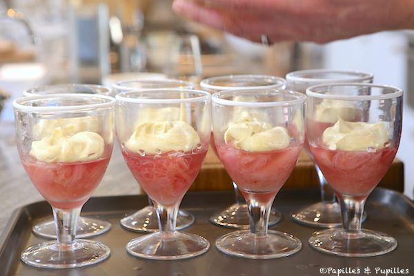 Rhubarbe + Crème