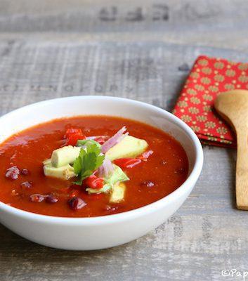 Soupe mexicaine épicée