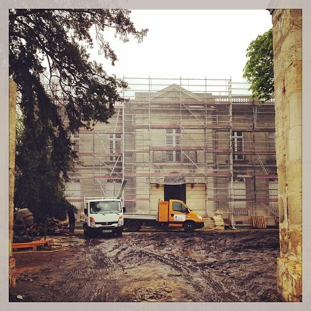 Futur établissement de Joël Robuchon à Bordeaux - il y a encore du boulot !