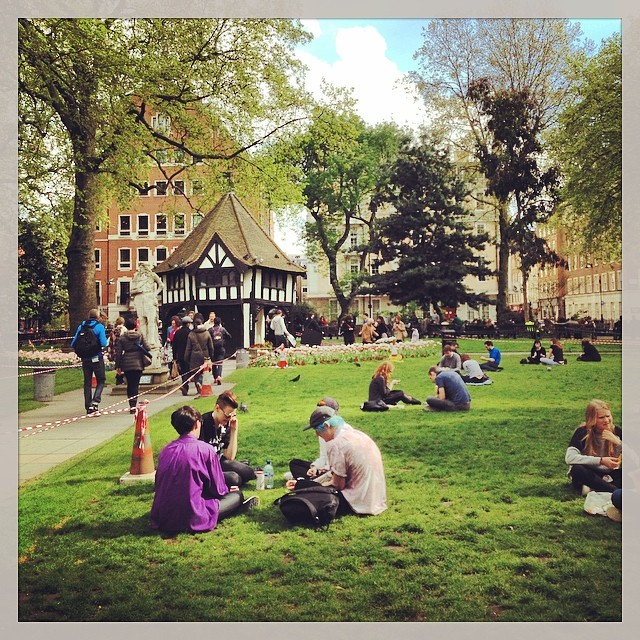 Soho square - London