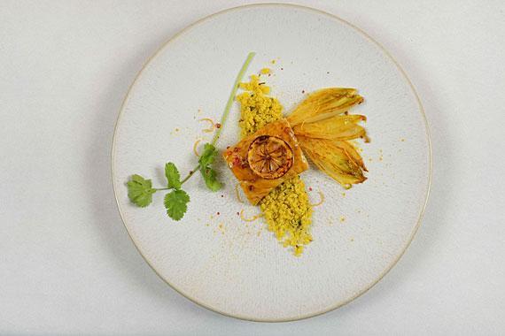 Dos de cabillaud aux endives et citron ©Patrick Delapierre