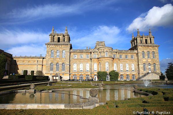 Blanheim Palace côté jardin