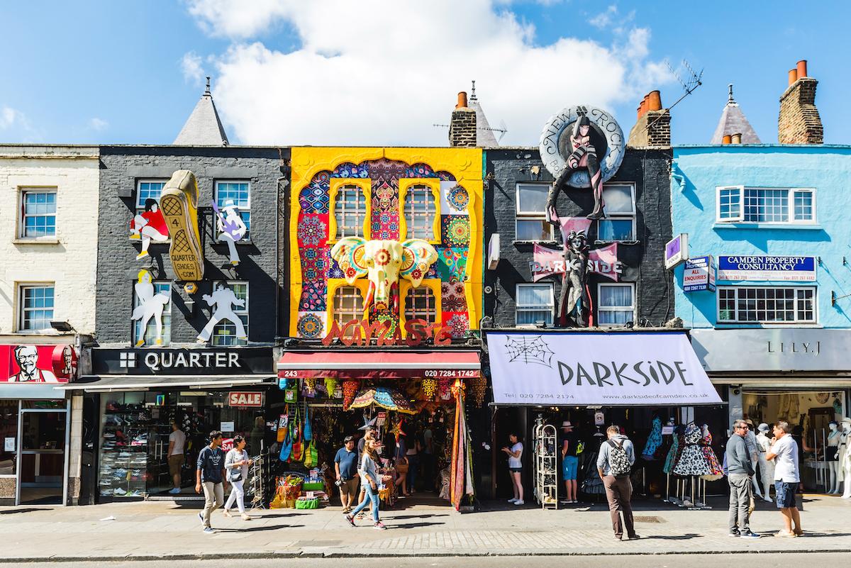 Camden Town ©Valdis Skudre shutterstock