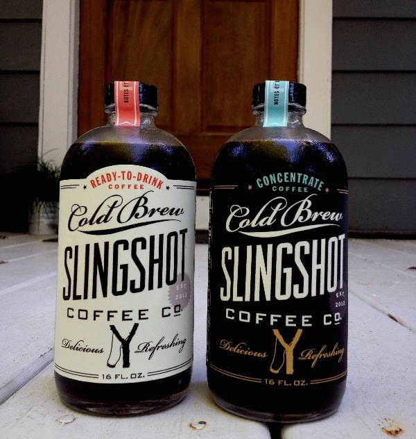 Cold brew slingshot coffee