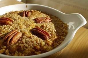 Tarte aux noix de pécan sans gluten ©SuikSuik
