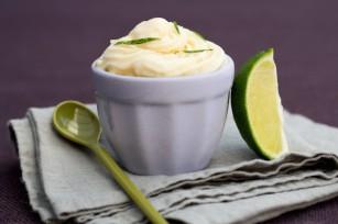 Glace au yaourt, au romarin et au citron CP A BEAUVAIS F HAMEL CERCLE CULINAIRE CONTEMPORAIN CNIEL