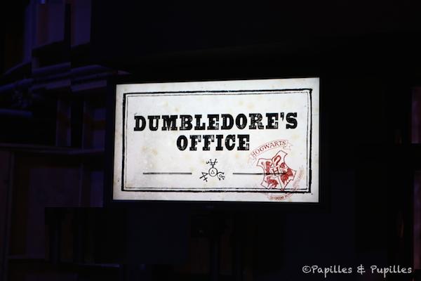 Le bureau de Dumbledore - Poudlard - Harry Potter