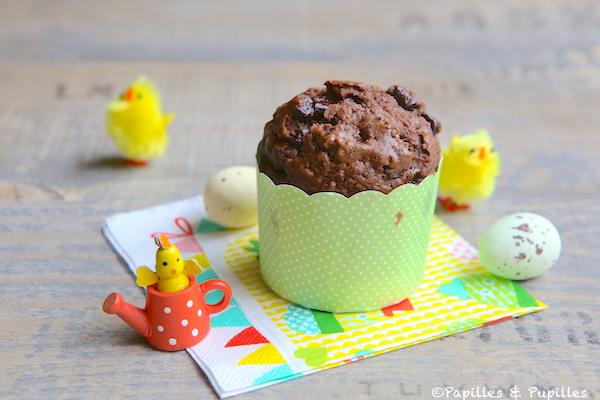 Muffins au chocolat - Noix de pécan