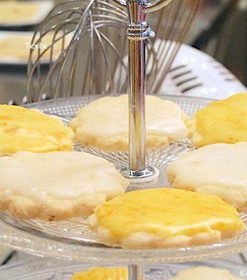 Sablés citrons et oranges sans gluten