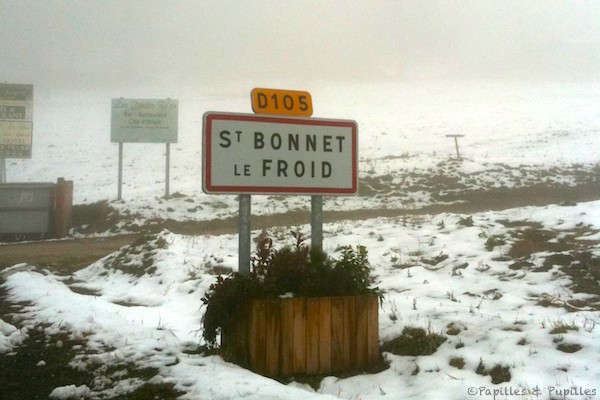 Saint Bonnet le Froid