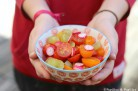 Salade tomates raisins radis