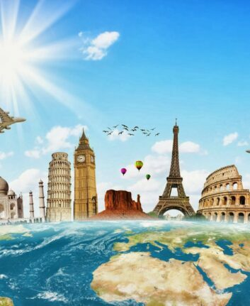 Voyage autour du monde ©SalFalko CC BY-NC 2.0
