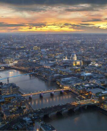 Vue de Londres depuis The Shard ©Jaanus Jagomägi unsplash