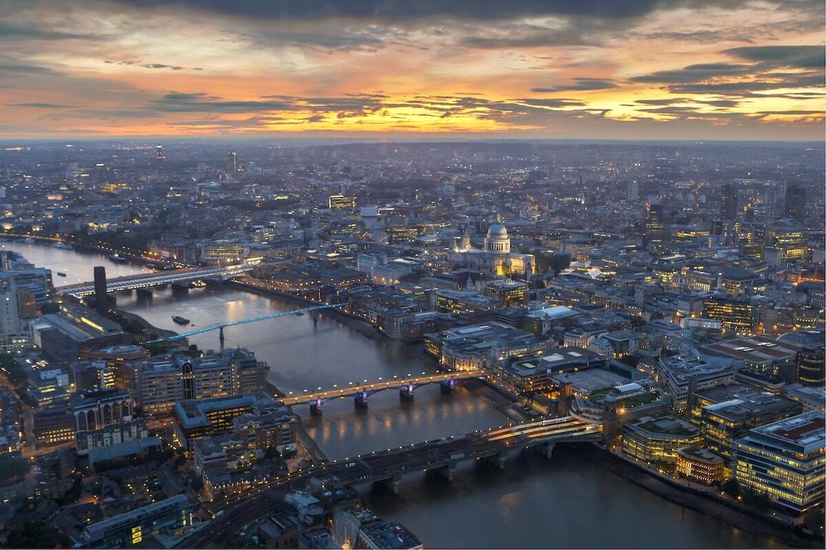 Vue de Londres depuis The Shard ©Jaanus Jagomägi unsplash