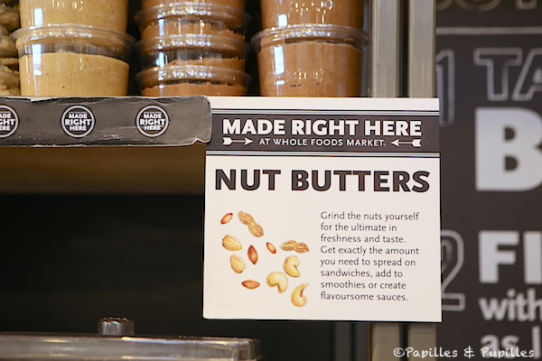 Whole Foods - Faites votre beurre d'oléagineux