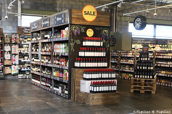 Whole Foods - Rayon vins