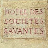 Hôtel des sociétés savantes - Bordeaux