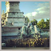 Fontaine des Quinconces - bordeaux
