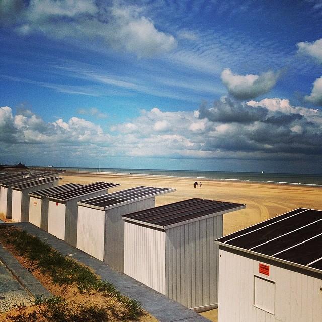 Beau temps sur la mer du Nord - Ostende - Belgique
