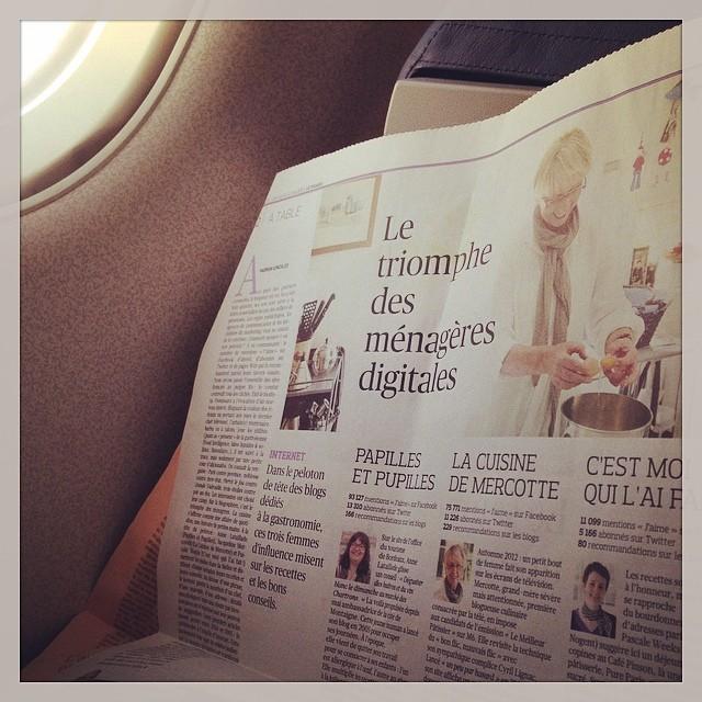 Priceless - découvrir l article du figaro dans l avion