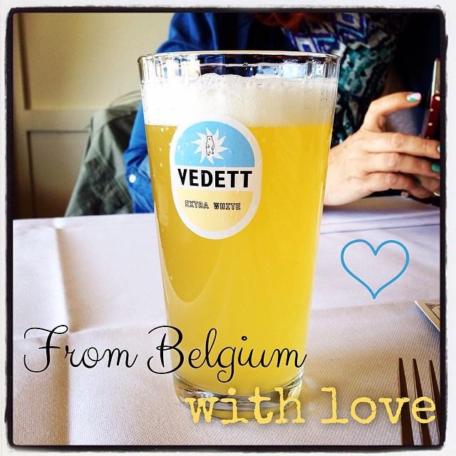 Vedett extra white, la bière blanche à la mode du moment en Belgique