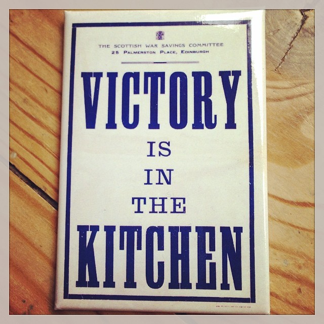 Victory is in the kitchen