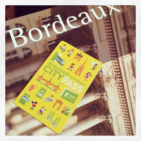 Bordeaux se dote d'un citypass - trop bien