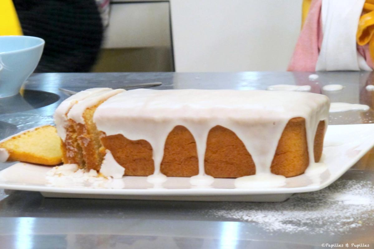 Cake au citron sans gluten Maizena