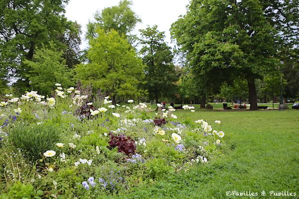 FLeurs au Jardin Public