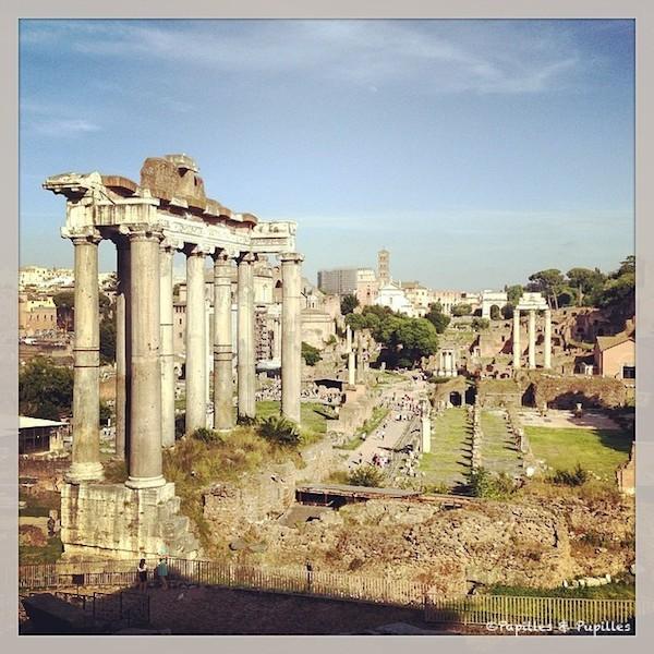 Le forum, Rome