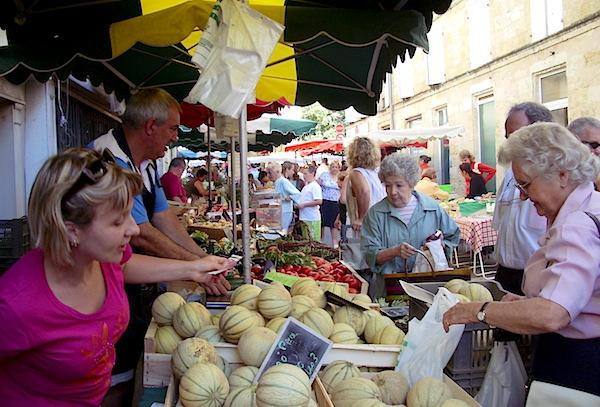 Marché de Sainte Foy La Grande - Gironde