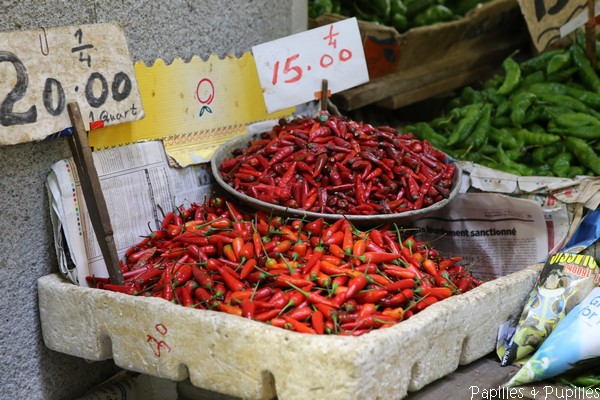 Piments rouges