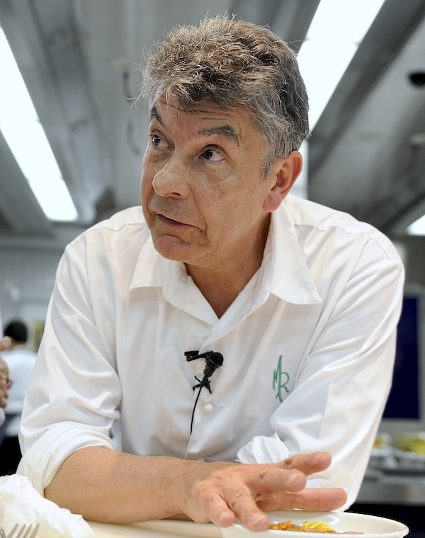 Régis Marcon au French Food and Culture Center (FFCC) de Tokyo