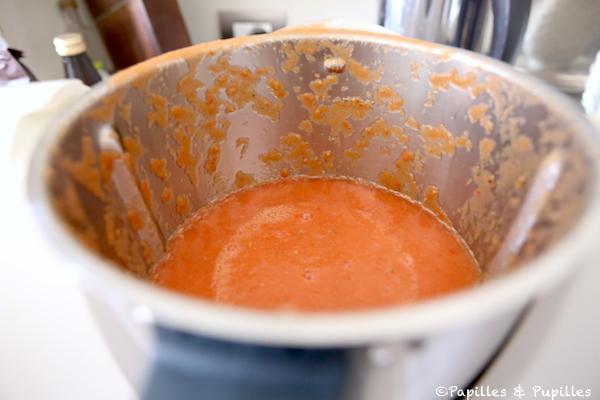 Sauce tomate mixée