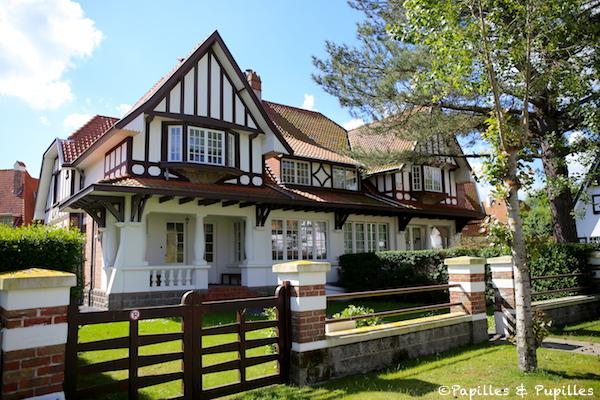 Villa de style anglo normande
