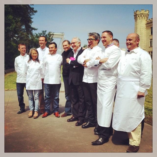Alain Ducasse et les chefs aquitains pour Château Hôtel Collection - Château du Prince Noir