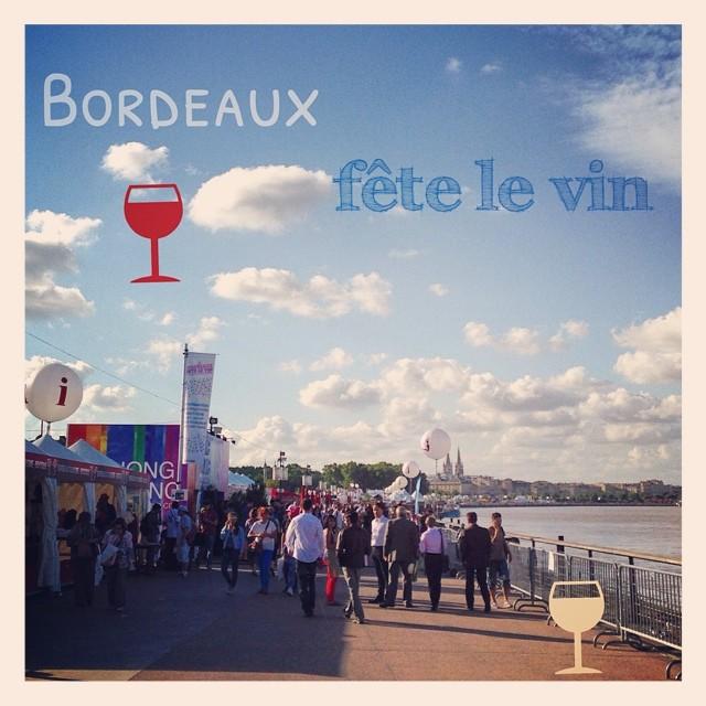 Bordeaux fête le vin, c est parti #bfv2014