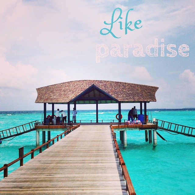23 heures de voyage plus tard #Maldives