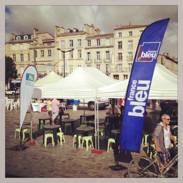 Live - on stage - Marché des Chartrons - Bordeaux