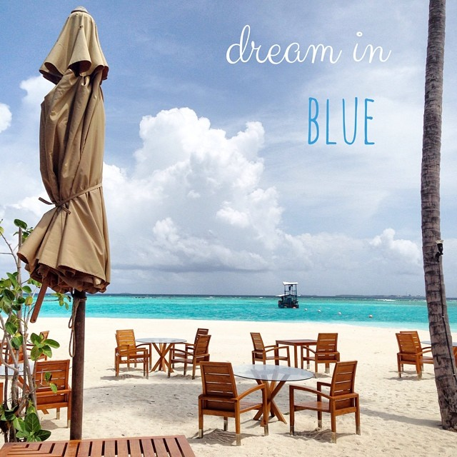 Je rêve en bleu
