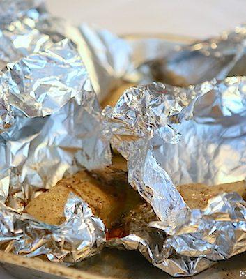 Foie gras en papillote