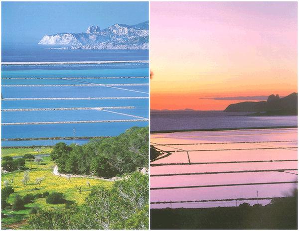 Salines le jour - Salines la nuit - Ibiza