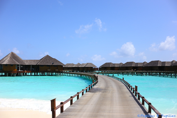 Water villas - The Sun Siyam Iru Fushi