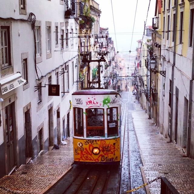 Balade en tramway - Lisbonne