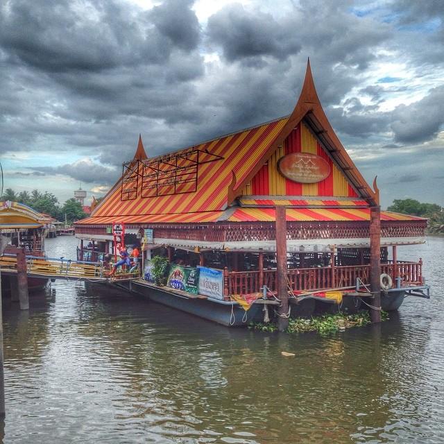 Balade en bateau sur le Meklong - Thaïlande